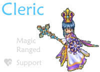 Cleric class mmorpg