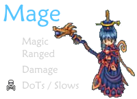 Mage class anime mmorpg